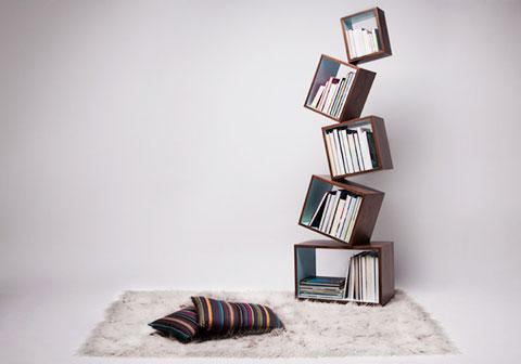 Equilibrium-bookshelf