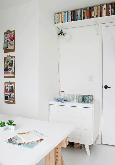Shelf-above-doorway