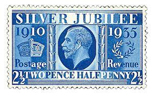 silver-jubilee-stamp-george-v