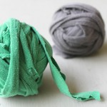Making bracelets and headbands from t-shirt yarn – a guest post by Crafts on Sea
