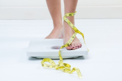 New Years' resolution number one : losing weight!