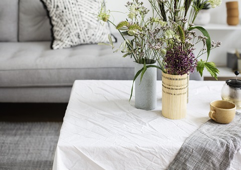 DIY Storage Vases