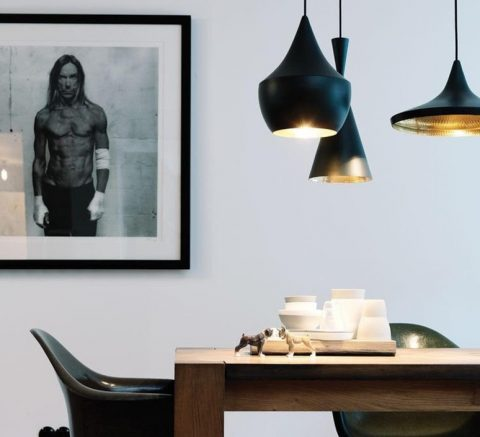 Create ambiance with statement lighting