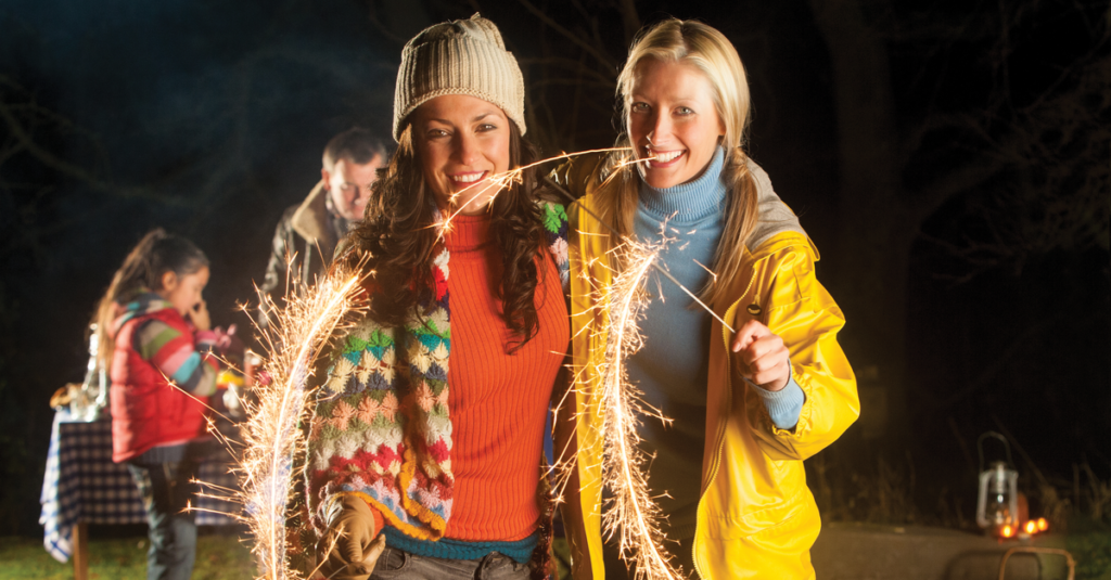 Bonfire Night Sparkle at Home