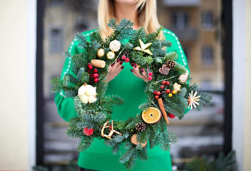Create a Festive Xmas Wreath