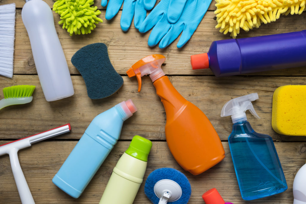How To Organise Your Cleaning Products