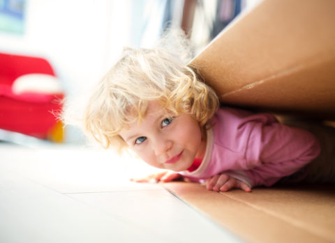 Survivre à un déménagement avec enfants