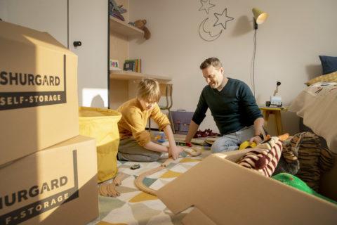Quelques moyens élégants de cacher des jouets