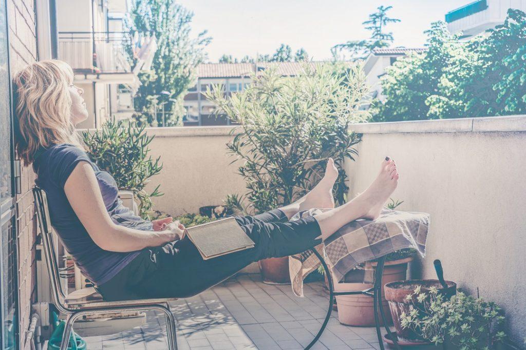 Le balcon, refuge estival!
