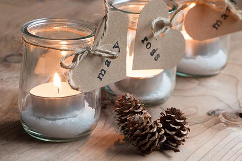 candles-in-jars