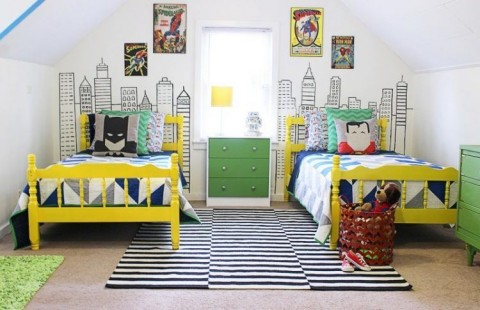 bright-and-modern-superhero-themed-room-for-three-boys-1-750x485