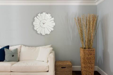 55cm+Sunburst+Mirror+Wall+Clock