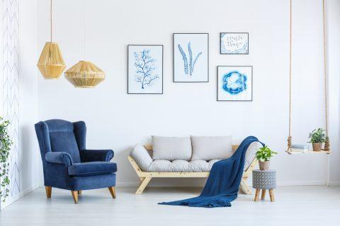 12 eenvoudige ideeën om je huis een frisse look te geven