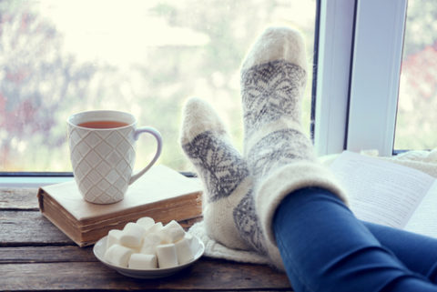 Comfort food op een koude januaridag