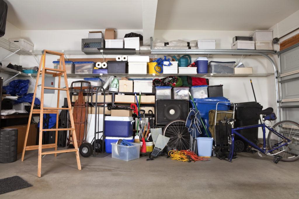 Top tips om je garage op te ruimen tijdens een lockdown