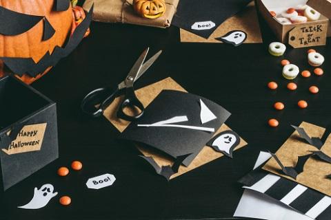 Halloween-utsmyckning: sex idéer till saker du kan göra själv